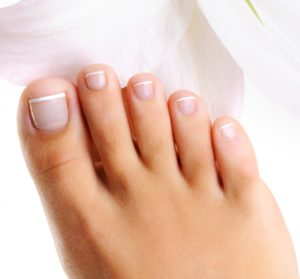 Toe nail fungus infection
