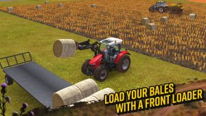 Farming simulator amusement