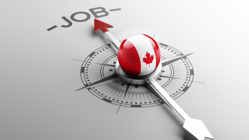 find job in canada